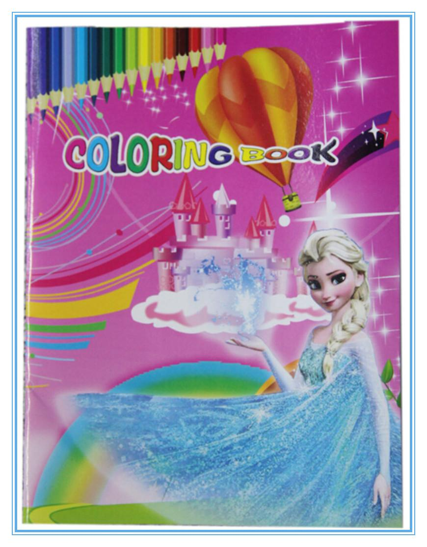 Frozen Invisible Ink Coloring Book Kids Coloring Stickers
