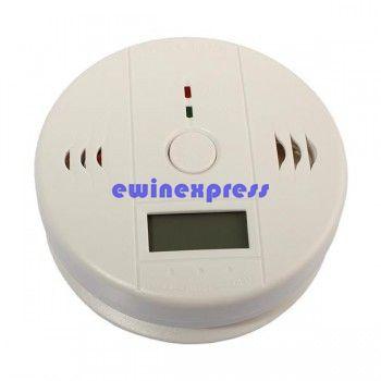 Digital Carbon Monoxide CO Gas Warning Alarm Detector home security alarm security systems alarms Carbon Monoxide Alarm Detector