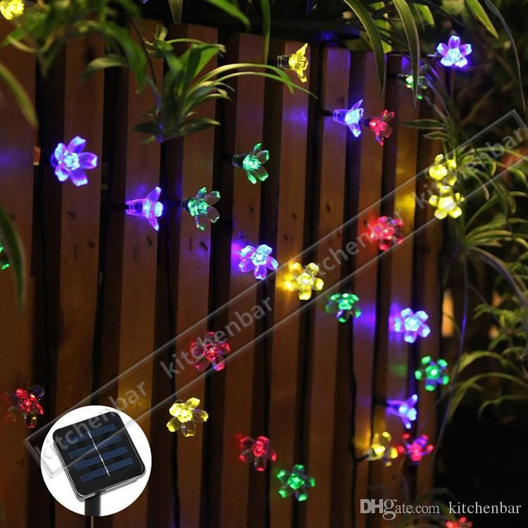 Contemporary Solar Led String Lights Outdoor New With Decorating