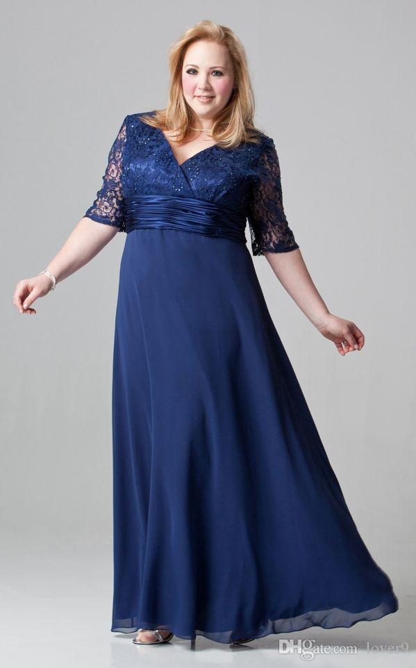 2015 plus size mother of the bride dresses a line chiffon floor length
