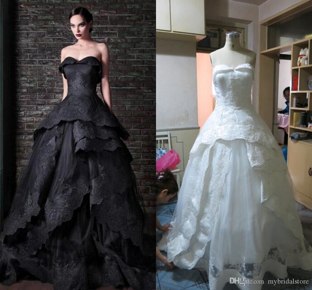 2015 rami kadi real picture white lace ball gown wedding for Rami kadi wedding dresses prices