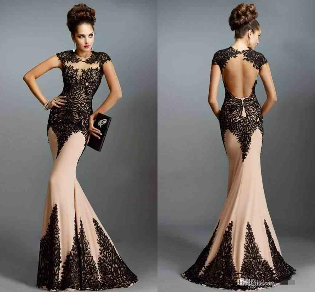 Backless Evening Dresses With Coverups 69