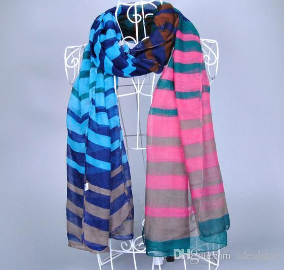 Scarves Voile Printed Wrap