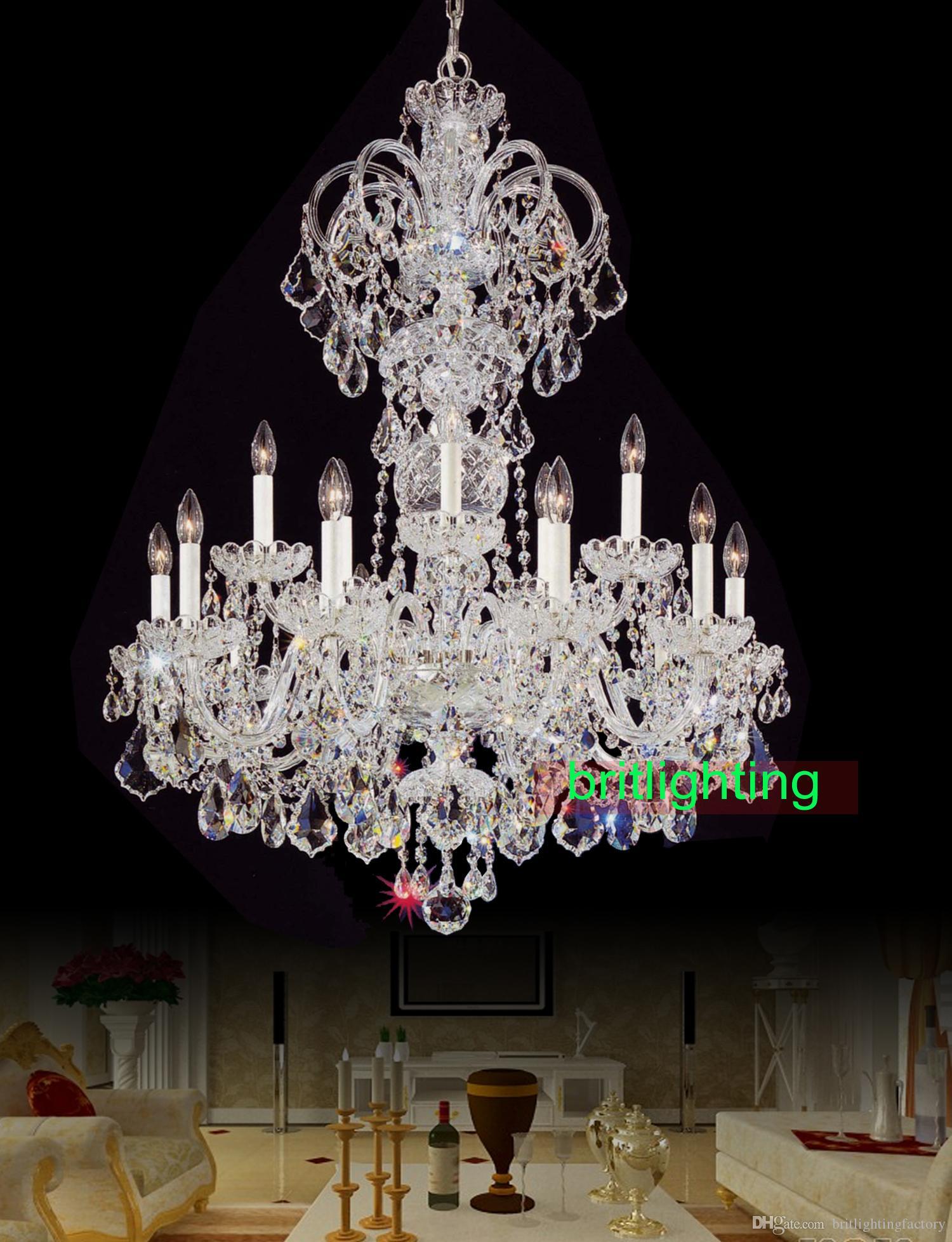 Modern Big Chandelier Lamps European Candle Chandeliers Versailles ...