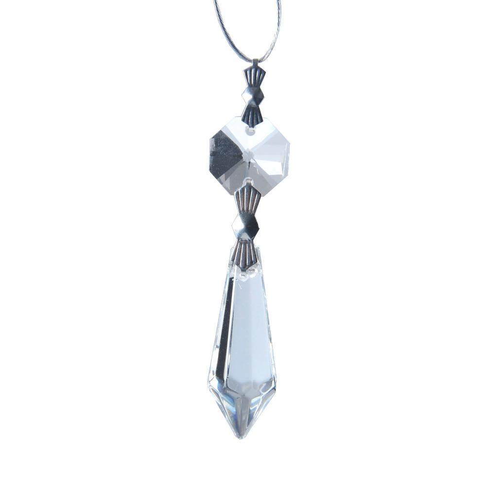 2017 diy candle holder clear chandelier glass crystals for Diy crystal chandelier lamp