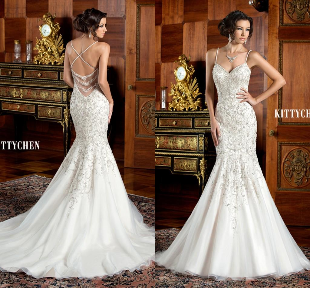 Gallery For Gorgeous Mermaid Wedding Gown