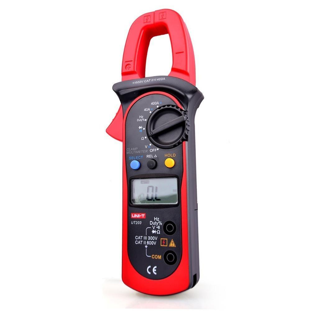 Ac Dc Digital Clamp Meter : Uni t ut lcd ac dc digital clamp meter multimeters