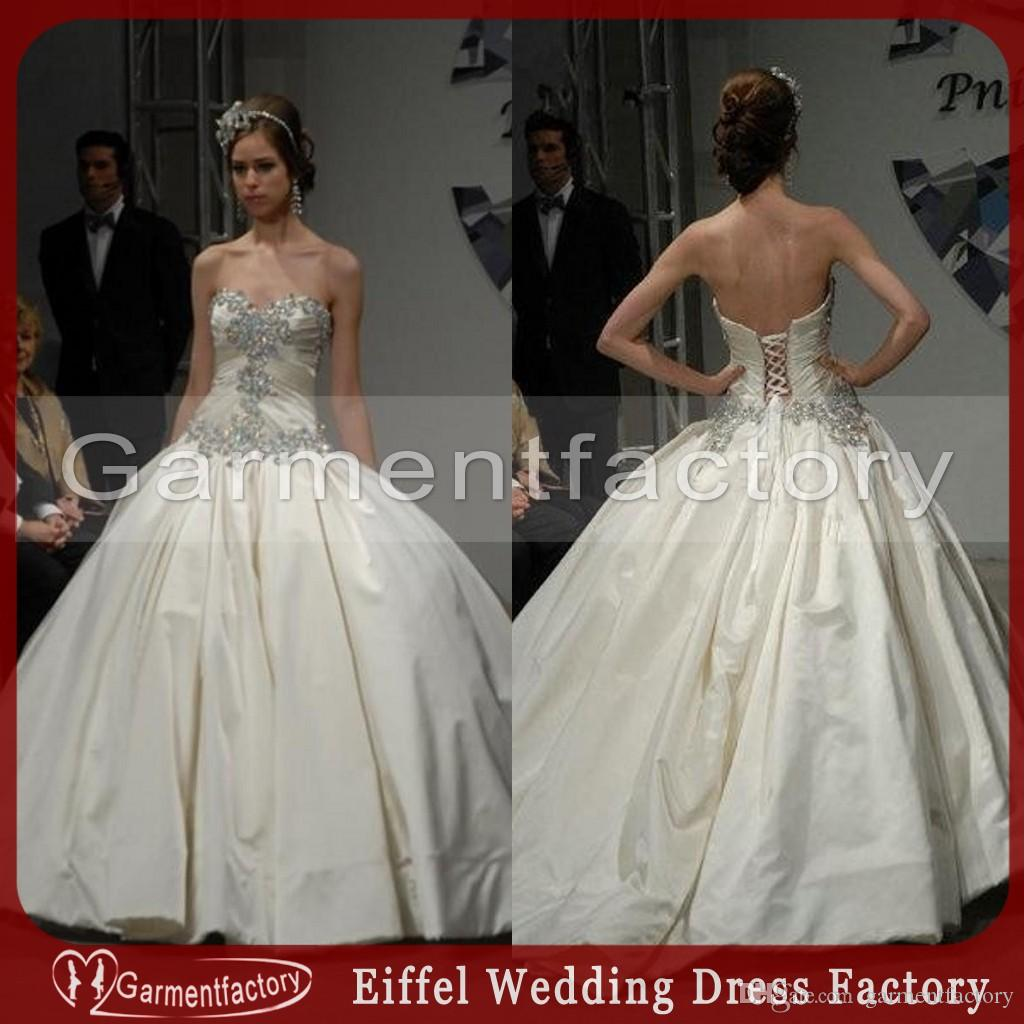 Pnina Tornai Ball Gown Wedding Dresses 2015 Sweetheart