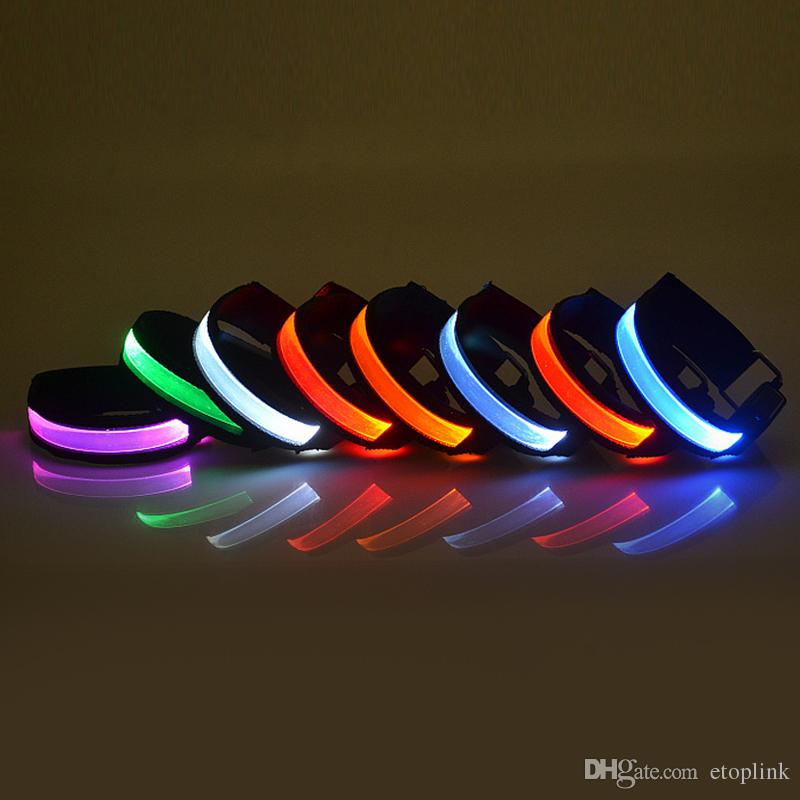 led necklace cool colorful led arm band safety reflective. Black Bedroom Furniture Sets. Home Design Ideas
