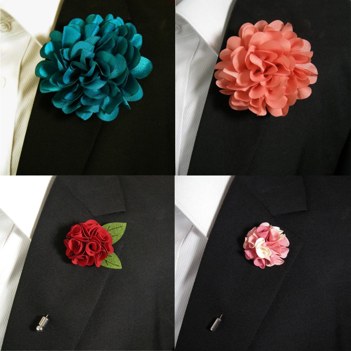 Large Flower Fashion Lapel Flowers