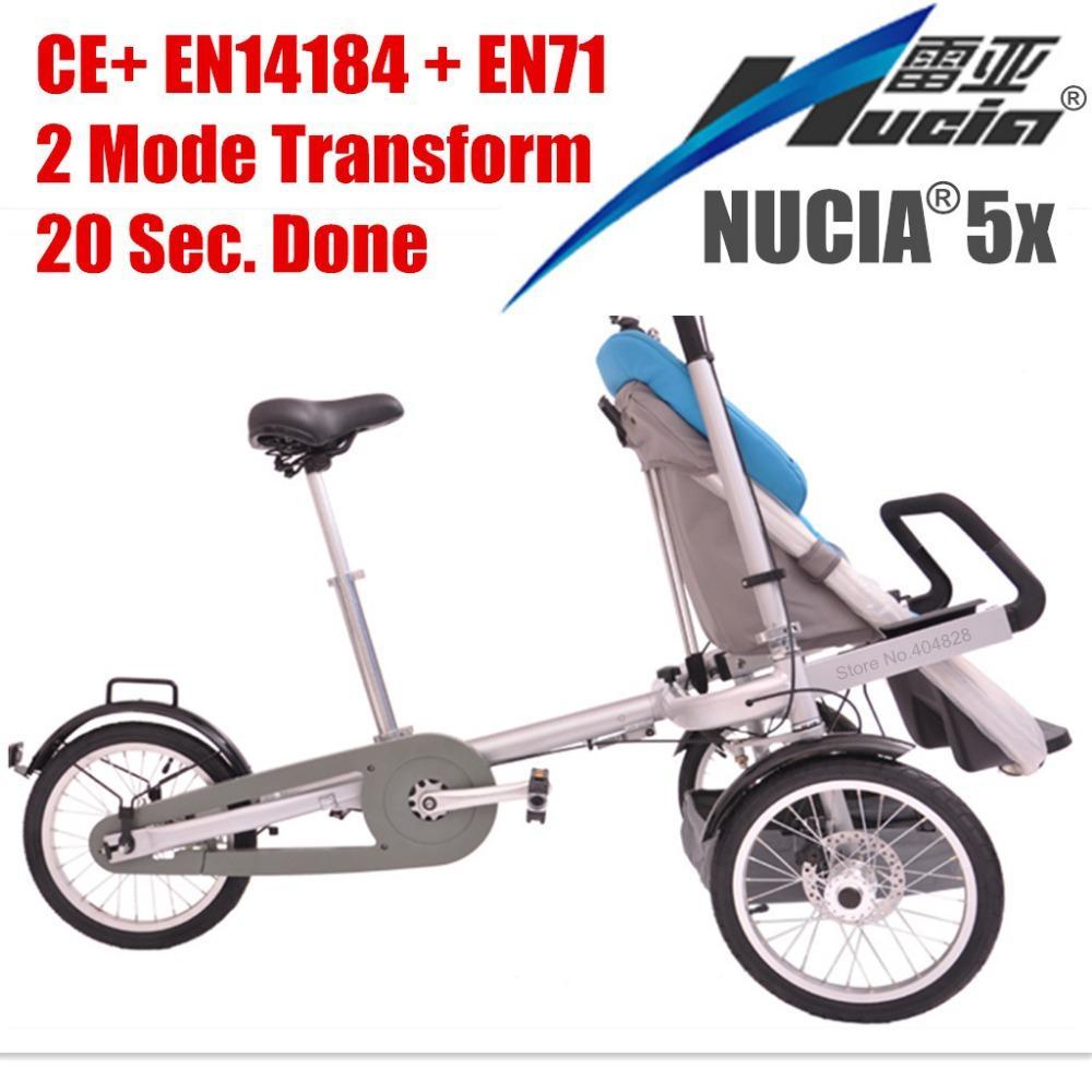 Nucia 5x Alloy Frame Baby Stroller Child And Mother Stroller Bike ...