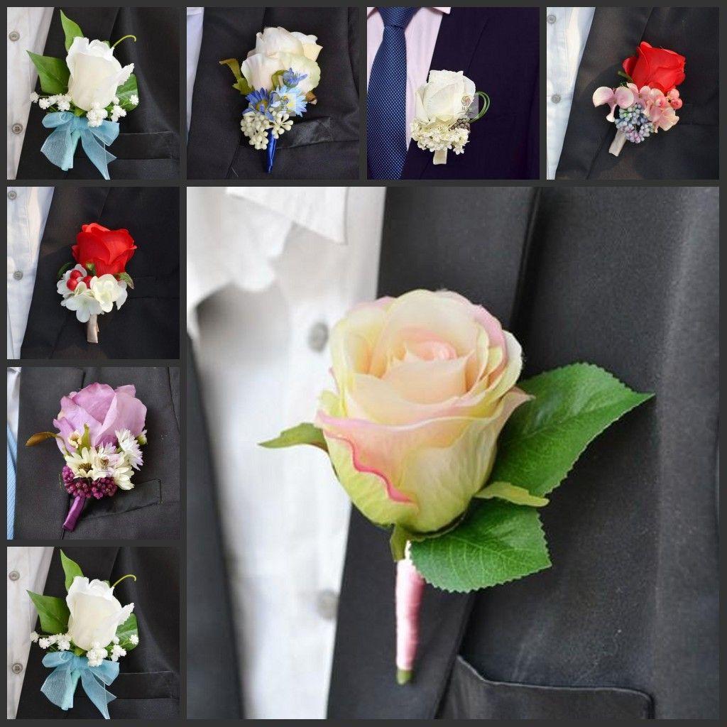 Romantic Wedding Decoraitve Boutonnieres