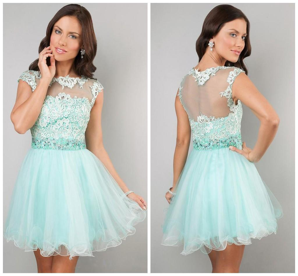 5th Grade 2015 Prom Dresses with Straps