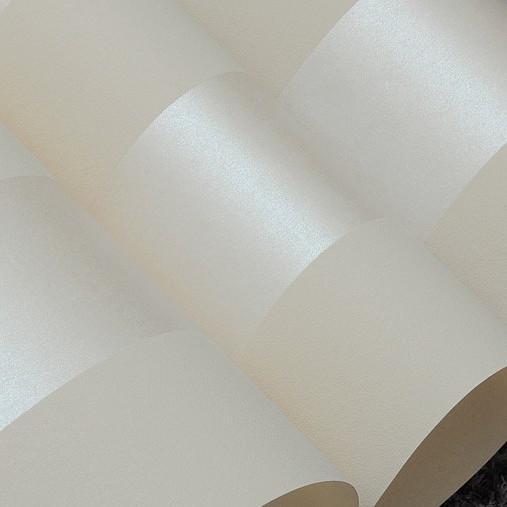 Non woven wallpaper roll classic metallic glitter stripe for Cheap white wallpaper