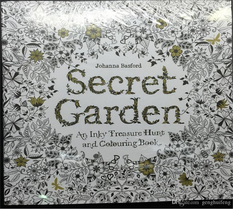 Sell Secret Garden An Inky Treasure Hunt And Coloring Book Adult Children Relax Graffiti