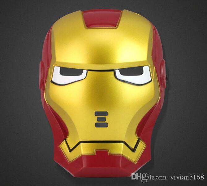 Iron Man Cartoon Face Wholesale Cartoon Iron Man