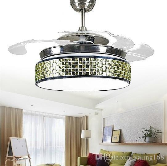2017 Supply Fashion Led Invisible Ceiling Fan Lights Fan