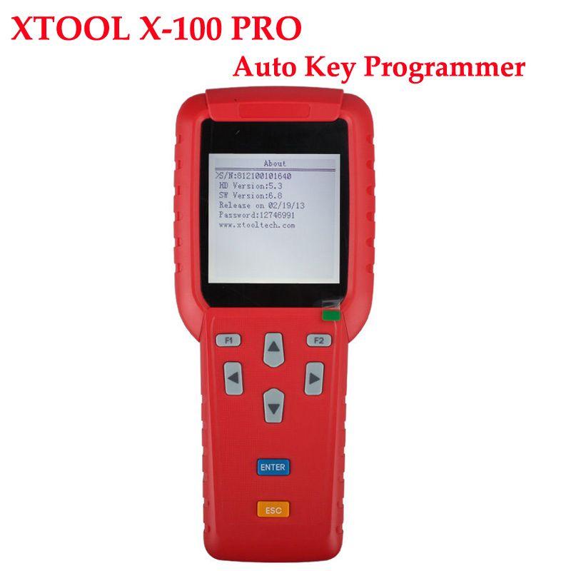 X-100 PRO Xtool X100 PRO Auto Key Programmer X100+ Updated ...