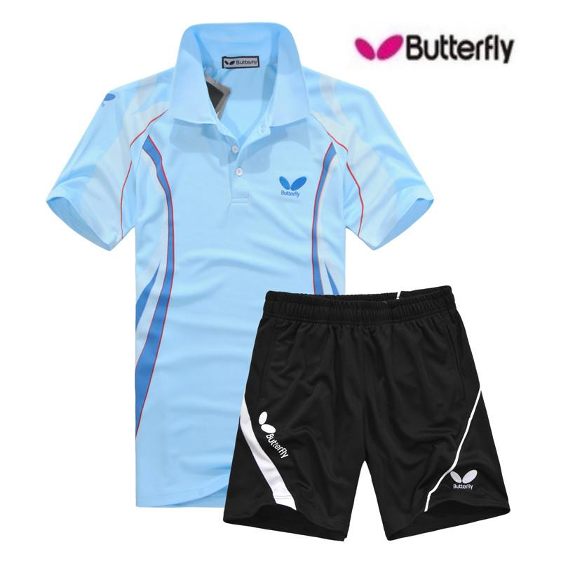 2016 butterfly table tennis jersey polyester breathable for Table tennis shirts butterfly