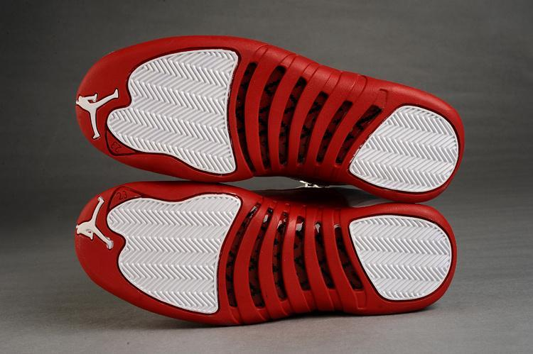 Nike Air Jordan 12 XII Mens Shoes 2013 New White Red
