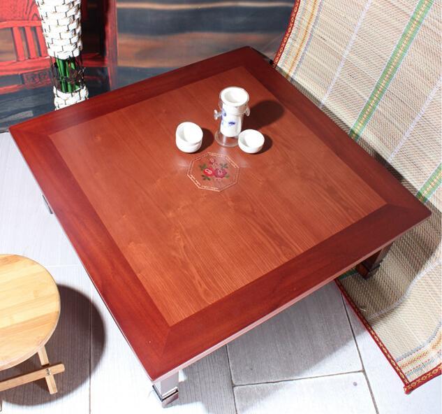 asian antique furniture korean folding table legs foldable square 70cm living room coffee table for tea asian style furniture korean antique style 49