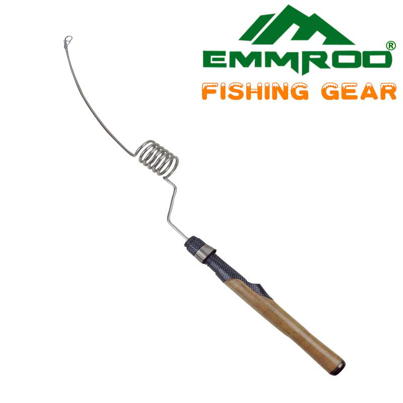 new emmrod stainless portable fishing pole rod spinning