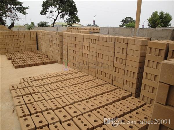 Blocks Interlocking Press Earth Us : Clay soil interlocking brick making machine small