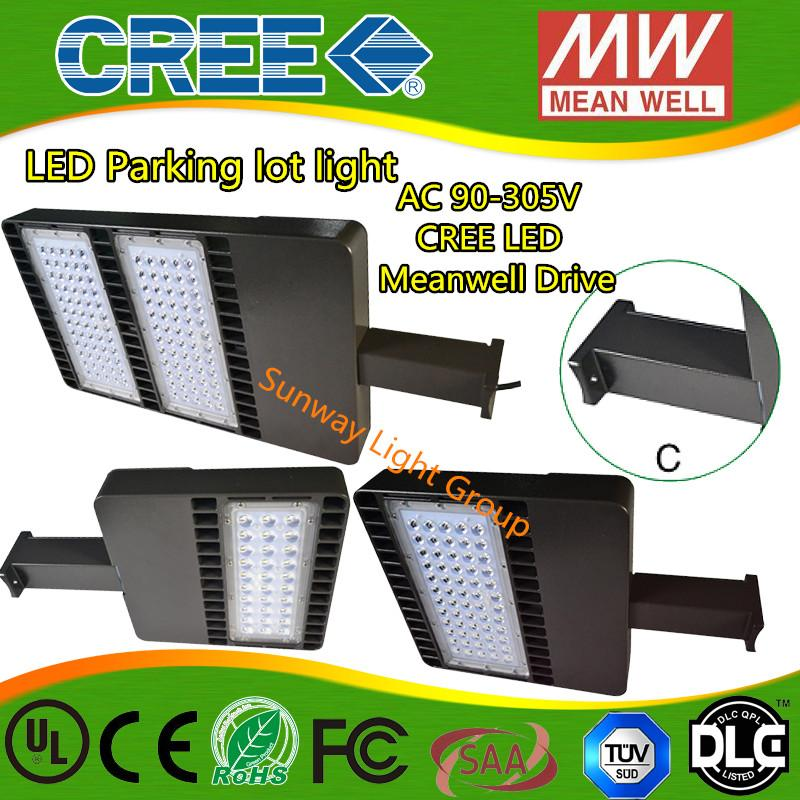 Cost To Install Parking Lot Light Pole: Cree Led Shoe Box Light Dlc Ul Cul Listed Parking High