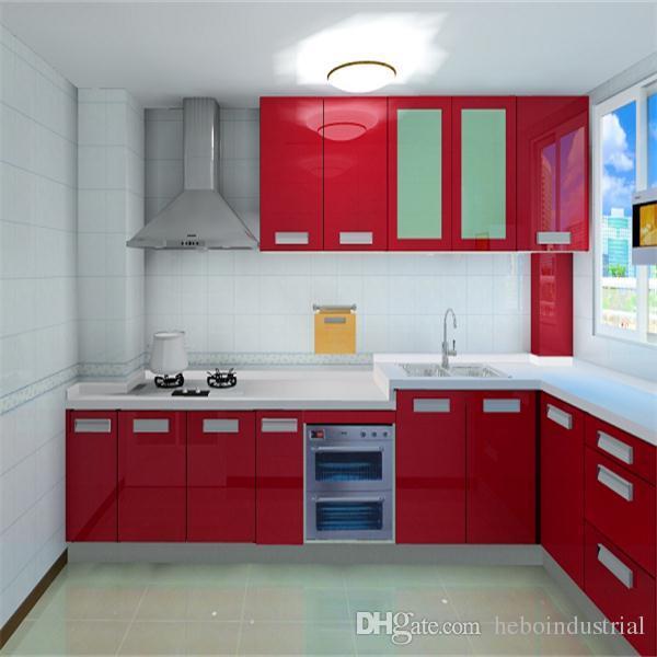 Kitchen Cabinet Doors Acrylic: 2017 High Gloss Acrylic Kitchen Cabinet Door/Kitchen