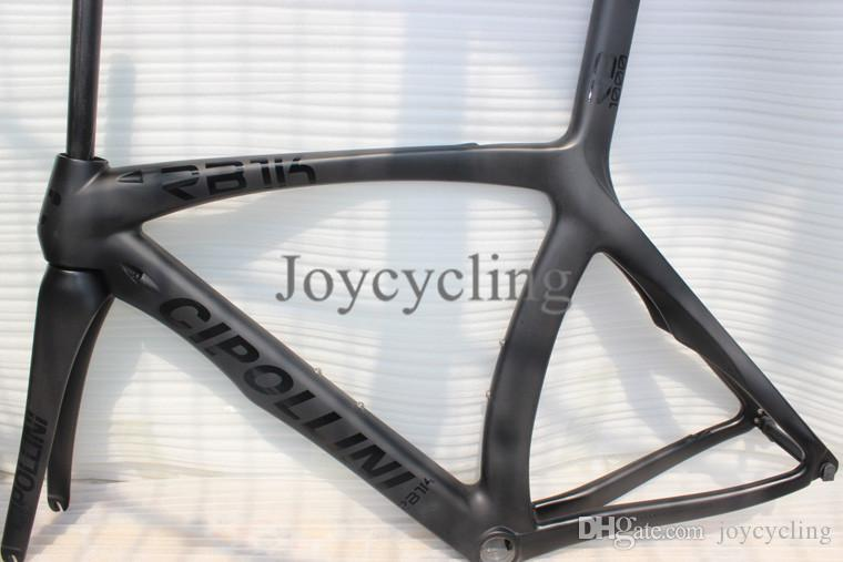 black matte carbon fiber cipollini rb1000 road bike frame t1000 carbon frames road bicycle frameset fit di2 and mechanical group mcipollini cipollini rb1000