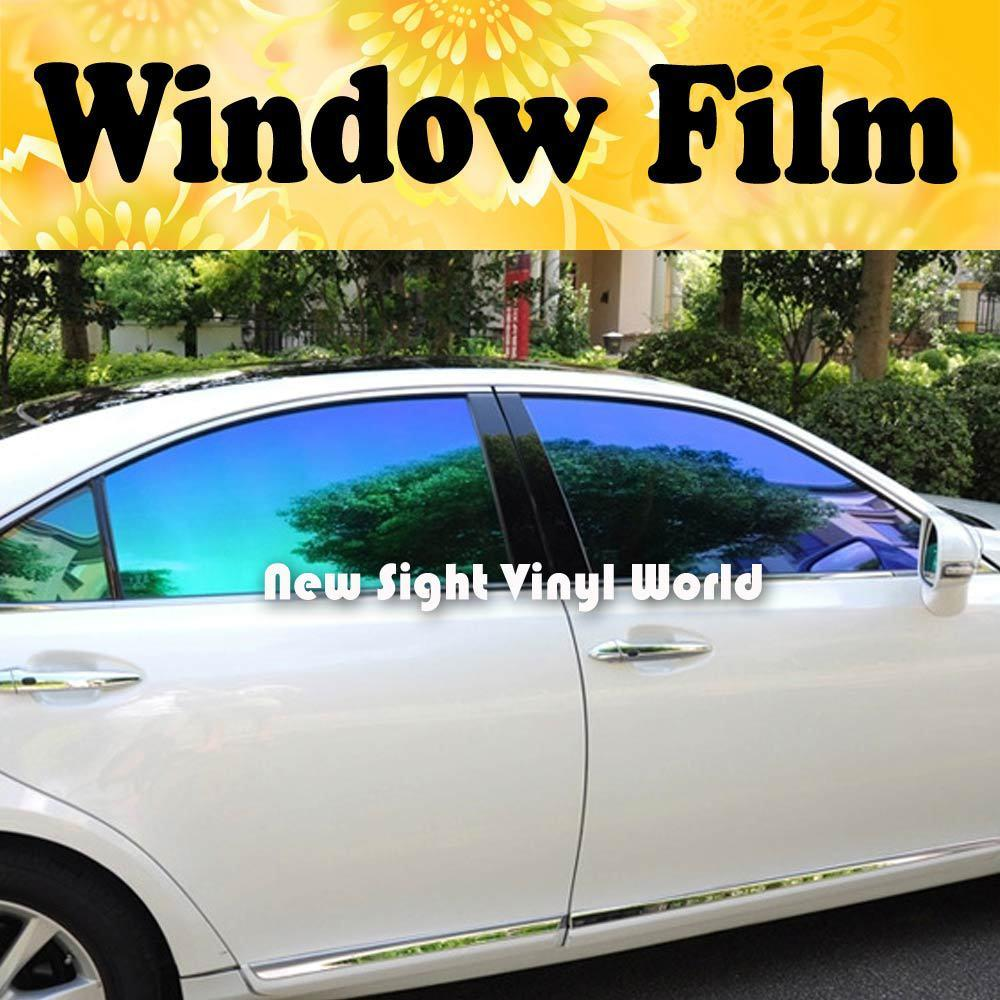 High quality chameleon car window tint solar film for 2 for 1 window tinting