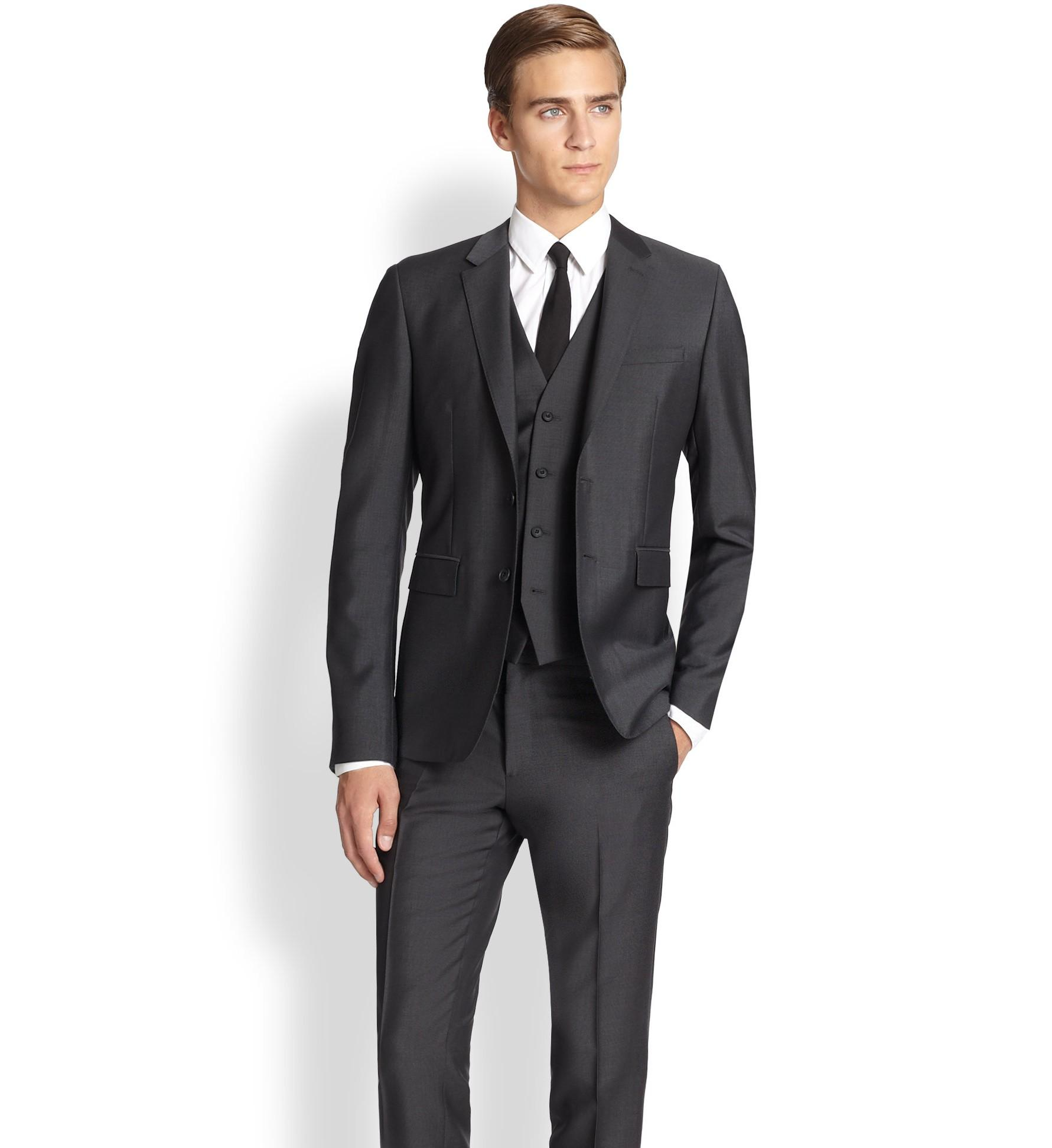 Mens Wedding Suits Slim Fit Dress Yy