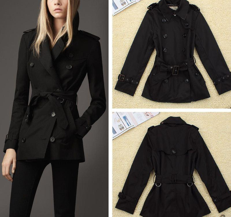 Autumn/Winter 100% Polyester Trench Coat For Women New 2015 ...