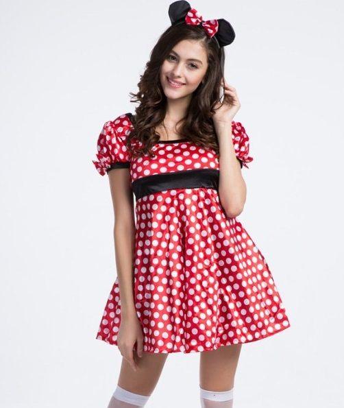 Cartoon Characters Costumes : Maid costume dress carnival halloween