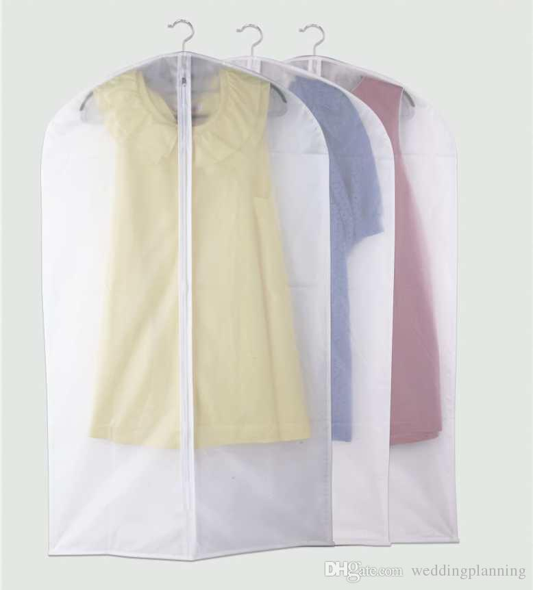 Wholesale dust cover no logo cheapest wedding dress gown for Wedding dress travel bag