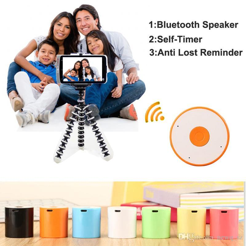 universal mini selfie stick bluetooth wireless remote shutter release self timer speaker for. Black Bedroom Furniture Sets. Home Design Ideas