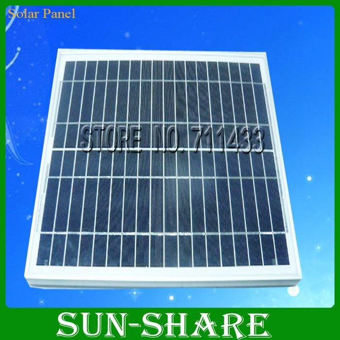 promotion 20w polycrystalline silicon solar panel pv solar cell 18v 36v available tuv ce. Black Bedroom Furniture Sets. Home Design Ideas