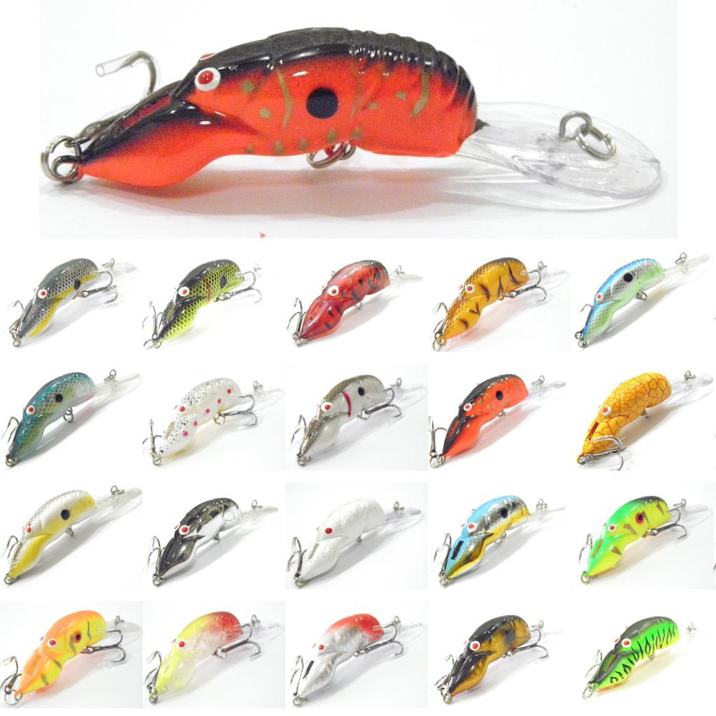 fishing lure crawdad crawfish crankbait hard bait slow floating, Fishing Bait