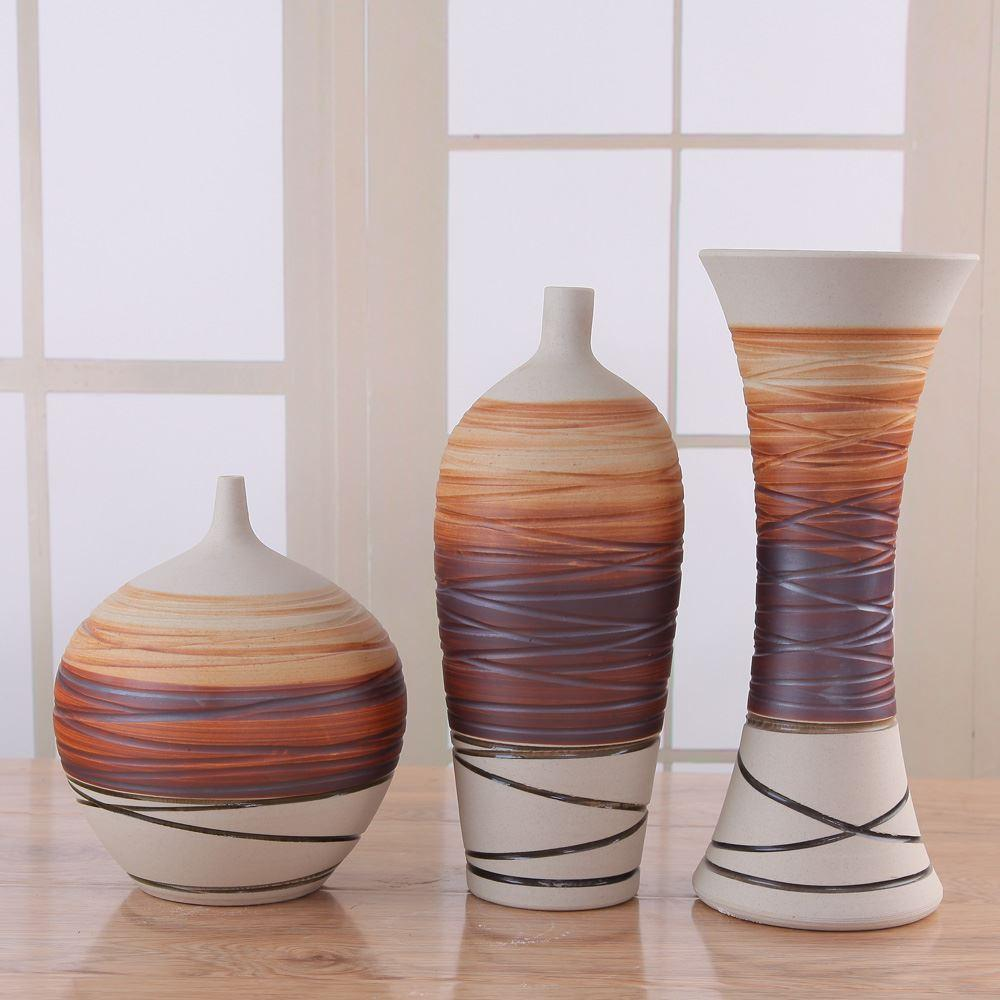 2015 new promotion s floor vase decorative vases flower vase vasos decorativos modern fashion brief vase - Decorative Vases