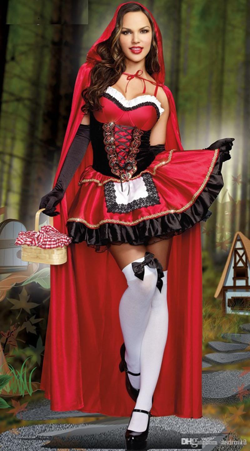 Halloween Costumes Witch Magician Sexy Cosplay Dress Stage Dresses ...