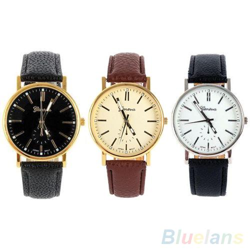 mens womens simple geneva round dial r numerals quartz analog mens womens simple geneva round dial r numerals quartz analog wrist watch wrist watch shop wrist watch cellphone wrist watch online 23 3 piece on