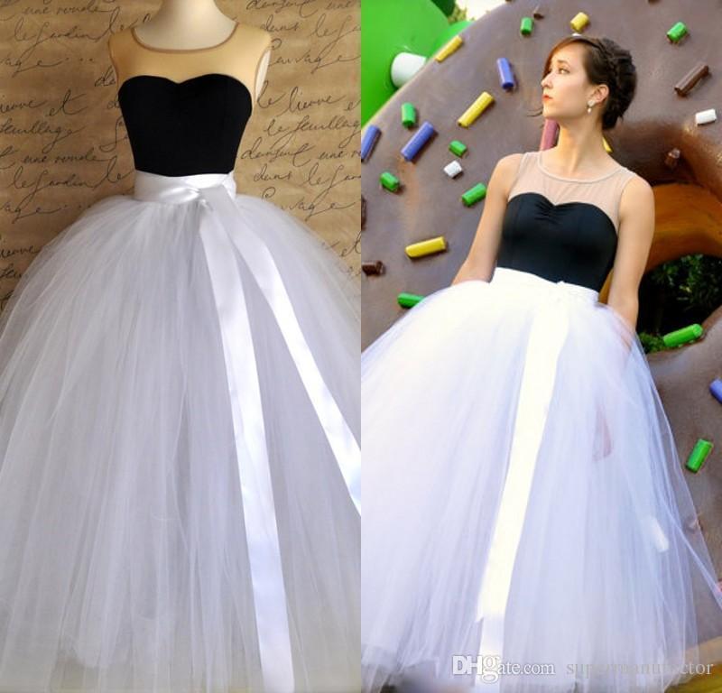 2017 2016 Tutu Skirt For Girls Or Women Full Length Tulle Ball ...