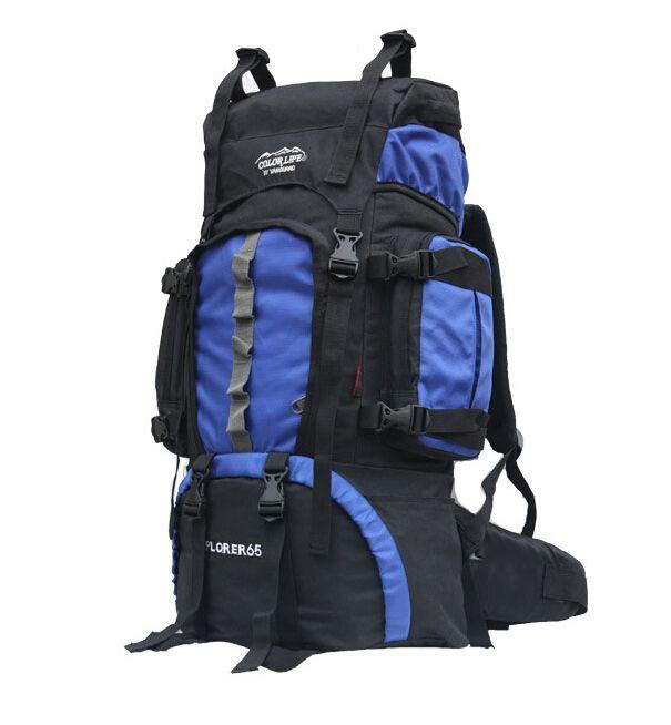 New Color Life 60l Backpacks Oxford Waterproof Hiking Backpacks ...