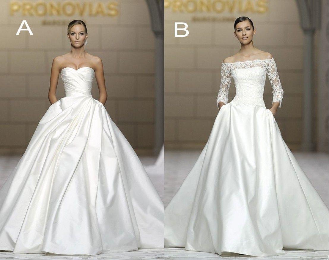 Designer 2015 elie saab bridal ball gown lace wedding for Designer ball gown wedding dresses