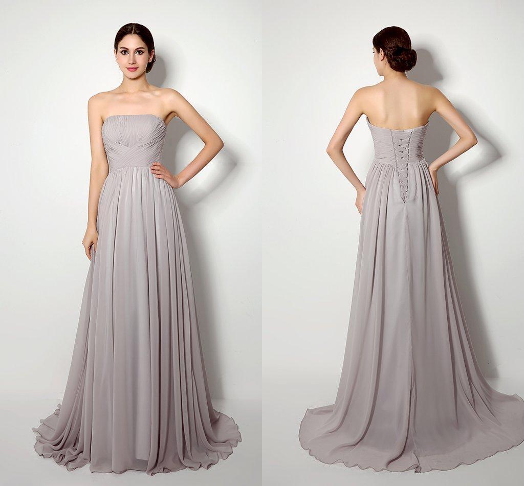 Strapless Maxi Dresses Online