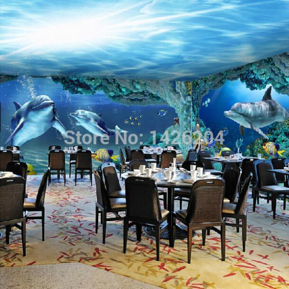 3D Sea World Large Wallpaper Murals For Living Room,children Photo Wall  Mural Wallpaper,custom Mural Painting Wallpaper Mural Kids Wallpaper Angels  ...