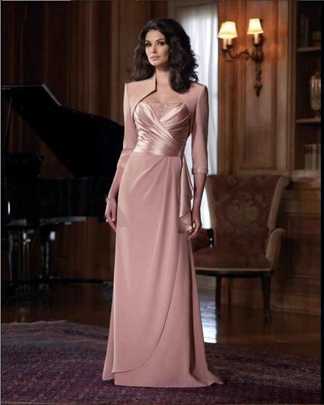 Mother Bride Dresses Sale: Hot Sale 2016 Wedding Dresses Jake Long Sleeve Mother Of