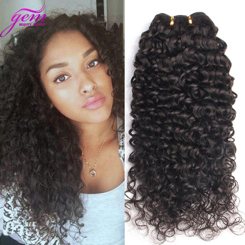 Mongolian Tight Curl Virgin Hair Thick Virgin Hair Bundles