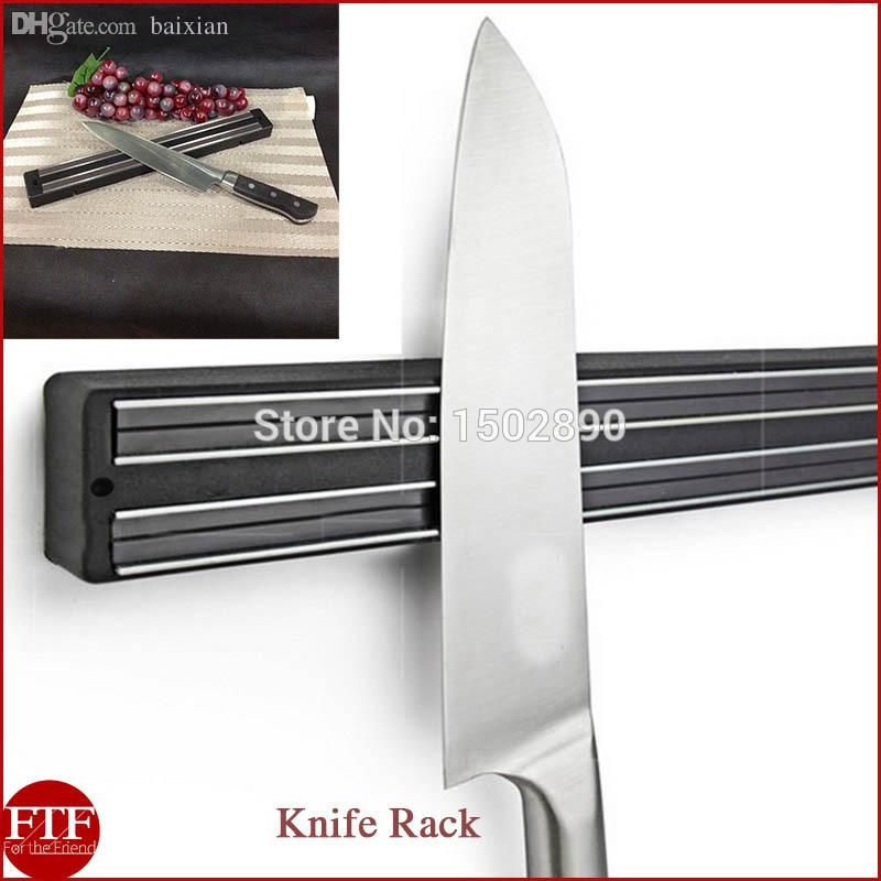 discount wholesale wall mount magnetic knife storage holder chef rack strip utensil kitchen tool. Black Bedroom Furniture Sets. Home Design Ideas