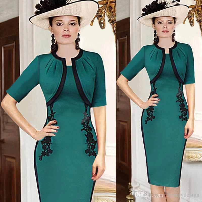 2017 Women Elegant Vintage Casual Dresses Pinup Floral Crochet ...